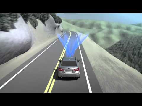 Subaru Eyesight Video >> Subaru Eyesight Lane Departure Sway Warning Youtube