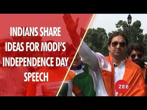 Indians share ideas for PM Narendra Modi's Independence Day Speech