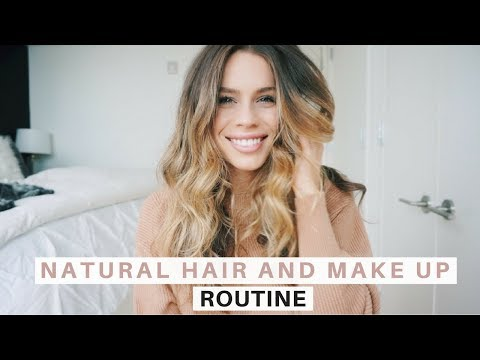 Soft, Natural Make up & Hair Routine | GRWM