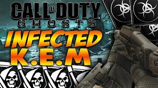 Call of Duty:Ghosts | ROAD TO K.E.M STRIKE (Infected!) LIVE [10]