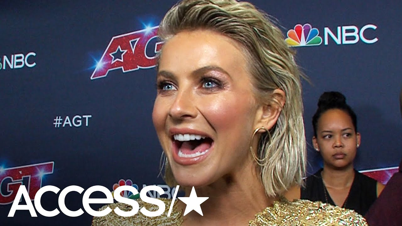 Julianne Hough 'Blacked Out' Performing First Song In Nearly A Decade On 'America's Got Talent'