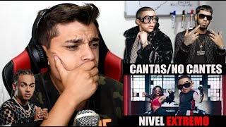 EXTREMO😱 CANTAS NO CANTES (Bad Bunny, Anuel AA, Ozuna, Karol G,Daddy Yankee,Tekashi 6ix9ine)