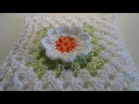 Crochet easy Flower Granny Square