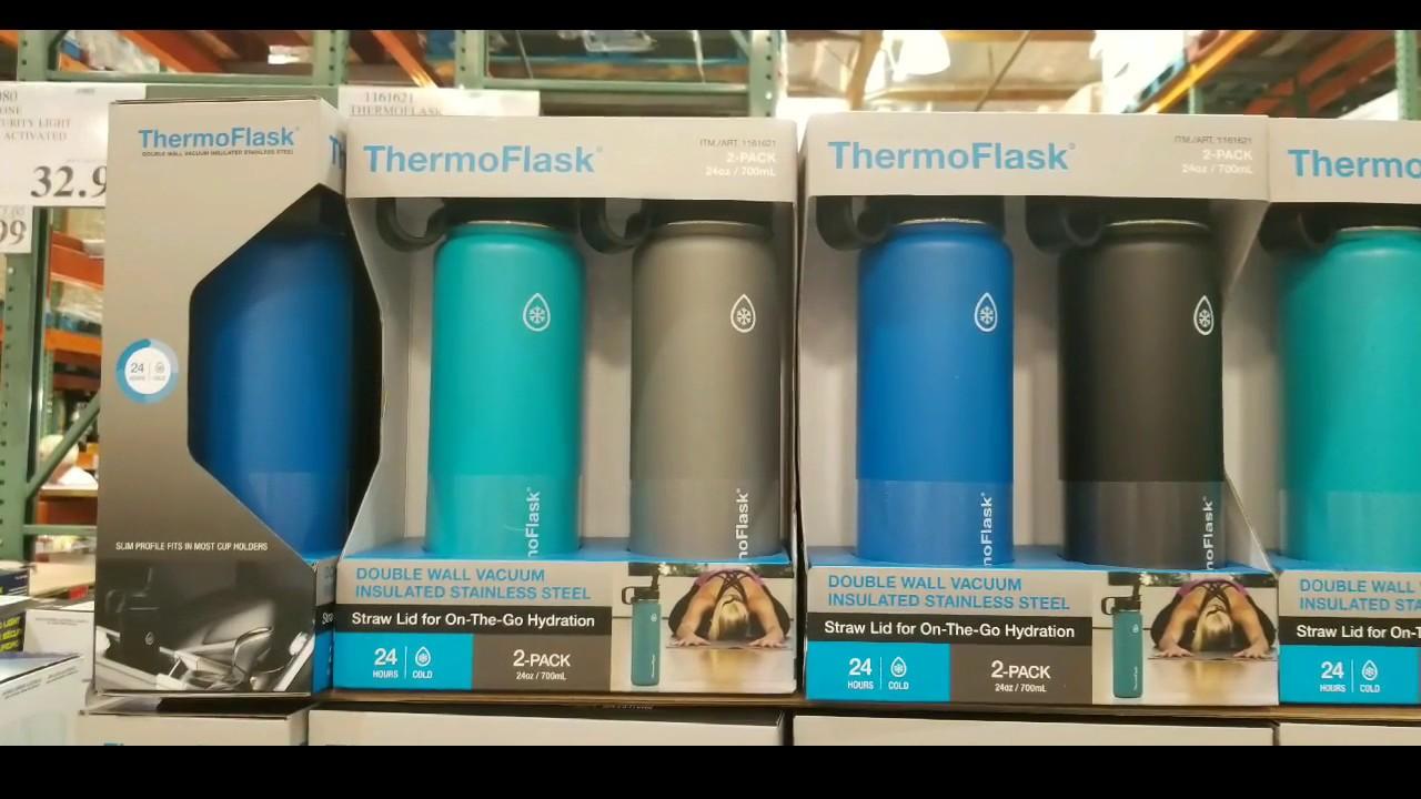 d0b5e9971b Costco! Thermoflask 24oz Insulated Bottle w/ Straw Lid 2 PK! $19 ...