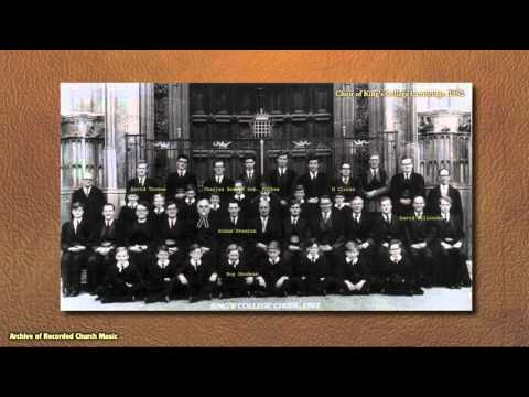 BBC Choral Evensong: King's College Cambridge 1964 (David Willcocks)