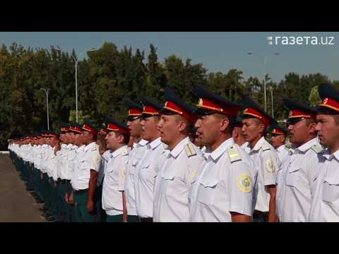 Фото, видео: Глава МВД проверил готовность личного состава ГУВД Ташкента