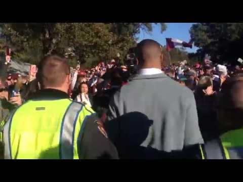 Dak Prescott Dawg Walk - Nov. 1, 2014