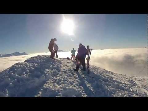 GoPro SnowBoarding Avoriaz Jan 2013