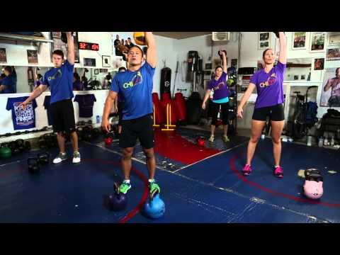 8. Kettlebell Workout • Blitz Workout