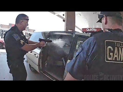 Bodycam Footage Shows Police Shootout in Tulsa, Oklahoma