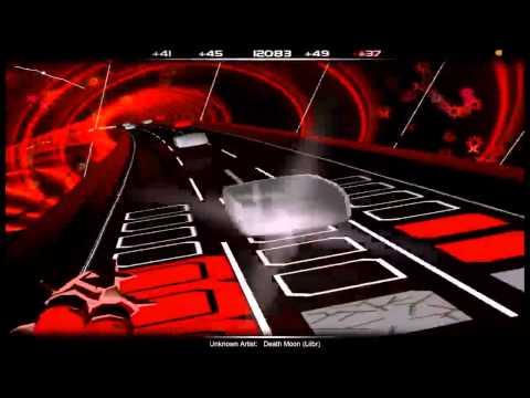 AudioSurf: Death Moon [INCREDIBLY HARD SONG]