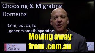 Migrating Domains