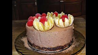 Рецепт простого и вкусного торта суфле из ряженки Торт на новогодний стол 2020