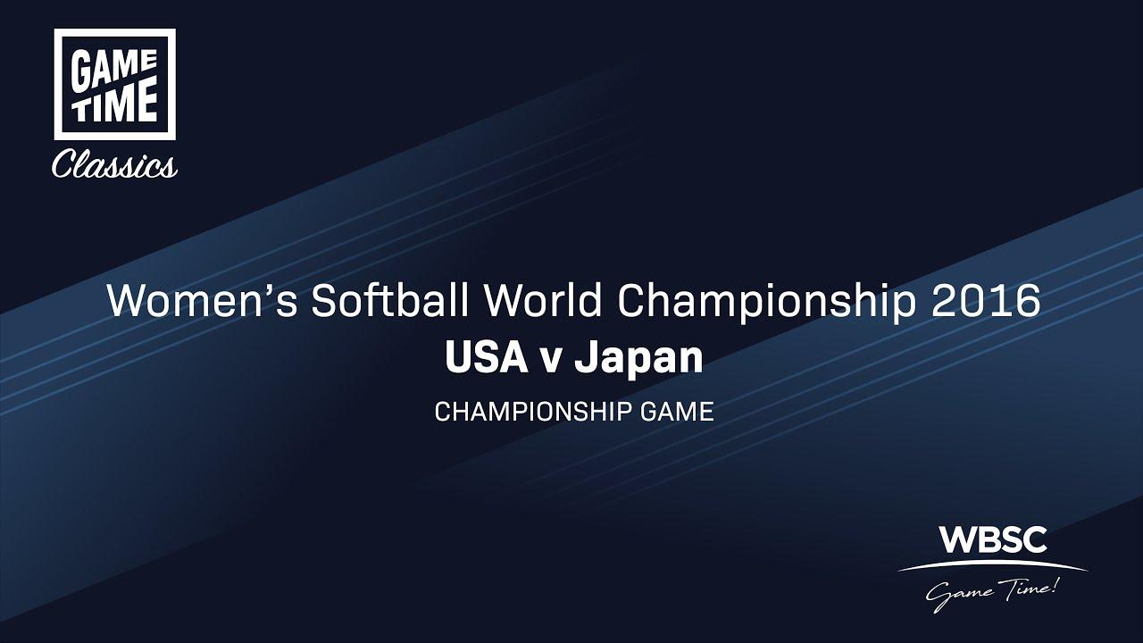USA v Japan - Women's Softball World Championship 2016 - Championship game