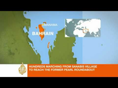 Freelance journalist reports from Bahrain