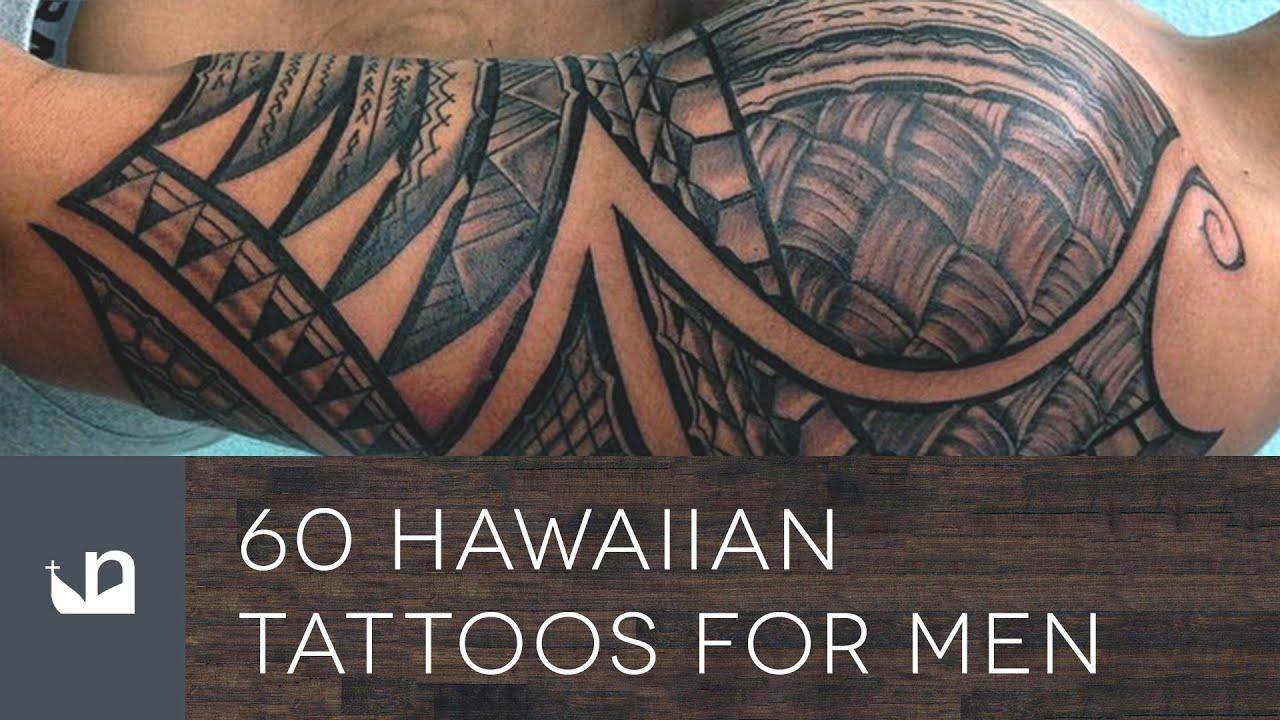 60 hawaiian tattoos for men youtube for Tattoo expo hawaii