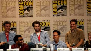 Danny Pudi (Abed) does Batman voice at the Community Panel - San Diego Comic-Con, SDCC 2010