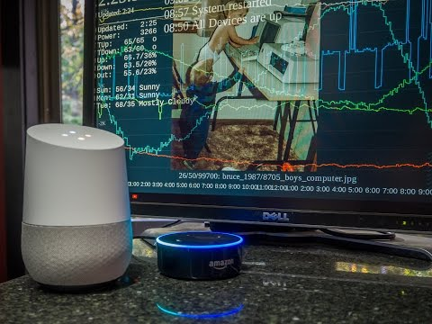 Alexa In A Forest -vs- Google In A Home