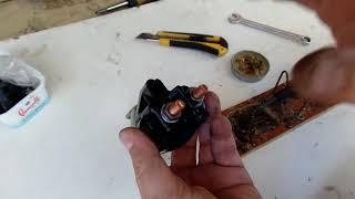 Ремонт втягивающего  стартера в  классическом ВАЗ  своими руками