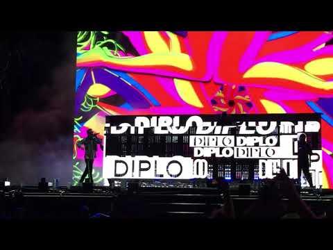 Diplo x Mr. Polska - Jagodzianki/ Sikam Szampan LIVE concert (Opener Festival 2019)