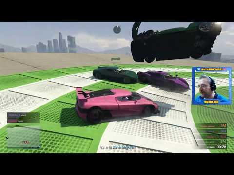 Jugando Actividades de GTA V Online con Suscriptores en Directo