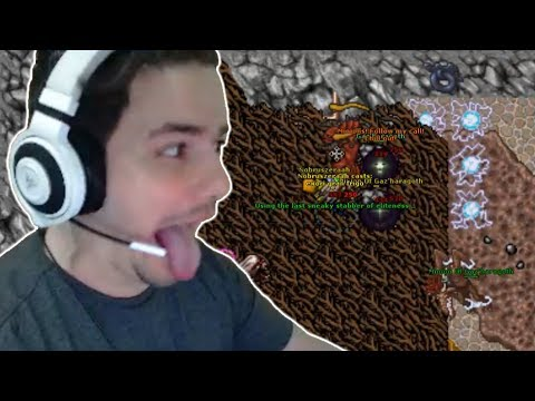 RUBINI ATTEMPTS GAZ'HARAGOTH - BEST OF TIBIA, PART 14 - TWITCH | TIBIA