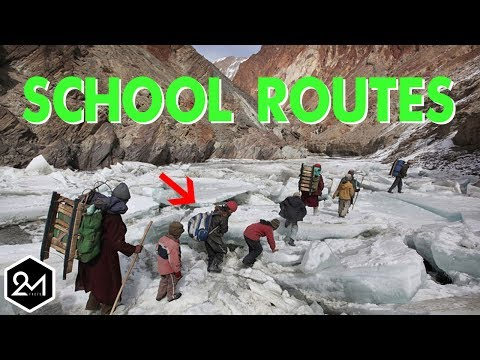 Top 10 Most Dangerous and Extreme School Routes Around the World