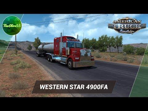 Видео: [ATS] ОБЗОР WESTERN STAR 4900FA