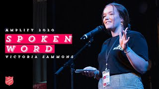 Victoria Sammons (Spoken Word) - Live at Amplify 2020