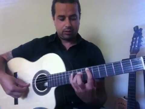 Ben Woods guitar lesson FLAMETAL