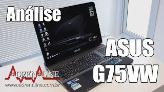 Análise em vídeo do ASUS G75VW