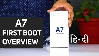 Samsung Galaxy A7 Overview & First Time Setup (हिन्दी)