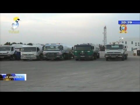 ENERGIE -  Chargement des citernes à la raffinerie de N'djamena