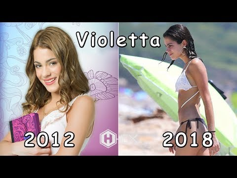 Violetta Then and Now 2018 (Real Name & Age)