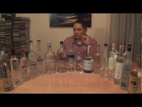 Vodka Taste Test #1 - 16 Of The Best Reviewed