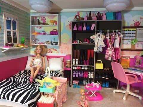 Tour Casa de Barbie/  Barbie Doll House Tour