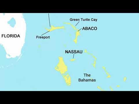 Map of Nassau, Bahamas - Pros & Cons of Nassau