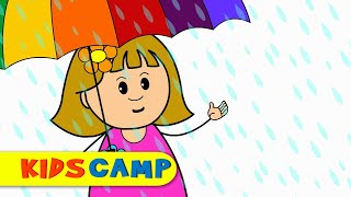 Rain Rain Go Away | Nursery Rhymes | Popular Nursery Rhymes by KidsCamp