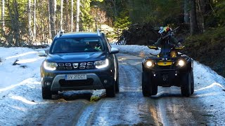 Duster 2019 vs Can-Am Outlander 2014 ATV Offroad