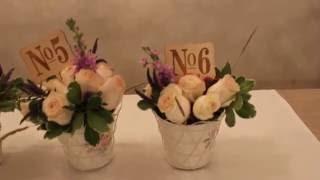 Оформление свадьбы цветами(, 2016-05-24T14:23:24.000Z)
