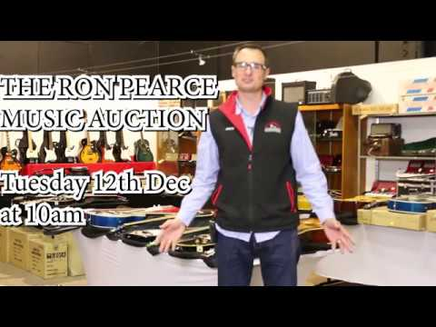 Scammells - The Ron Pearce Music Auction preview