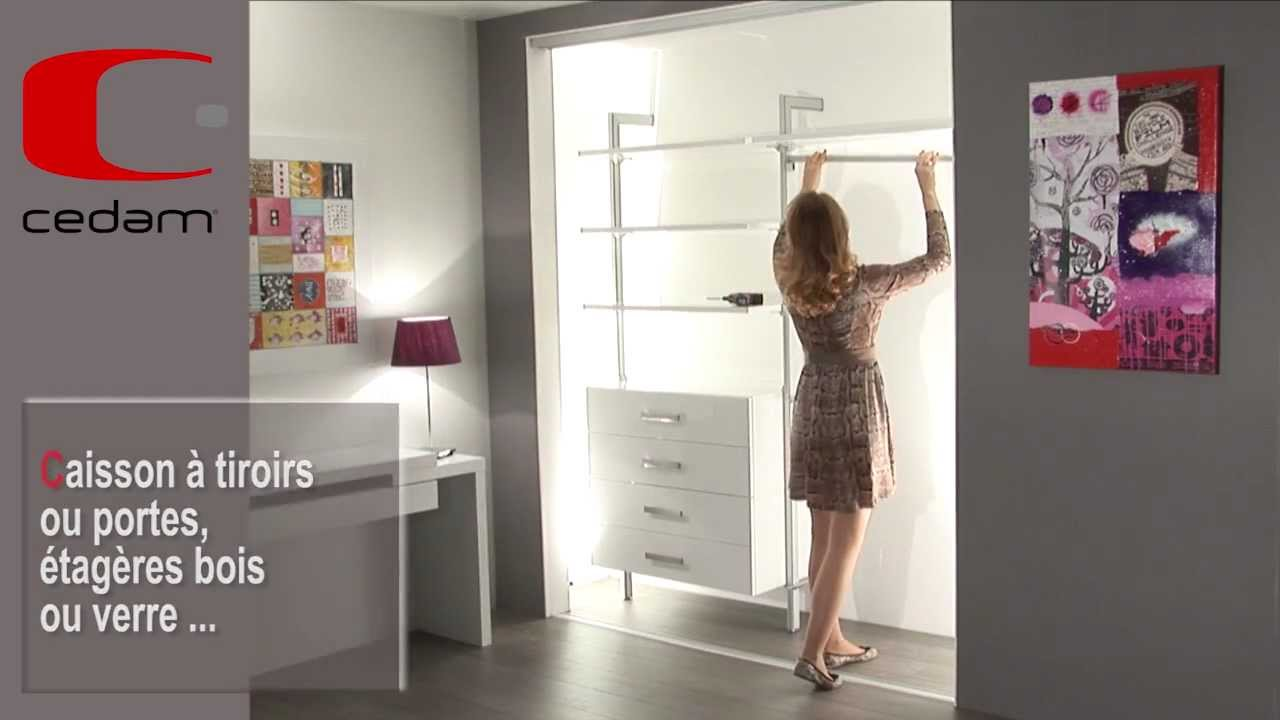 cr er un dressing contemporain youtube. Black Bedroom Furniture Sets. Home Design Ideas