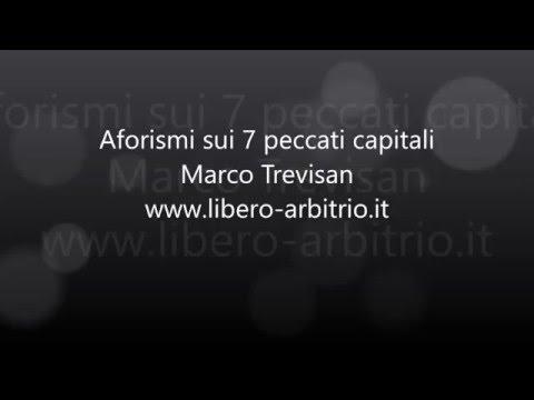 7 peccati capitali - Aforismi e frasi sui vizi capitali