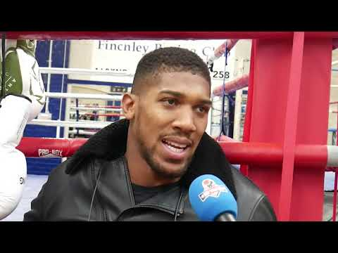 Anthony Joshua Gives His Prediction For Wilder Vs Fury 2 | Wilder Vs Fury 2