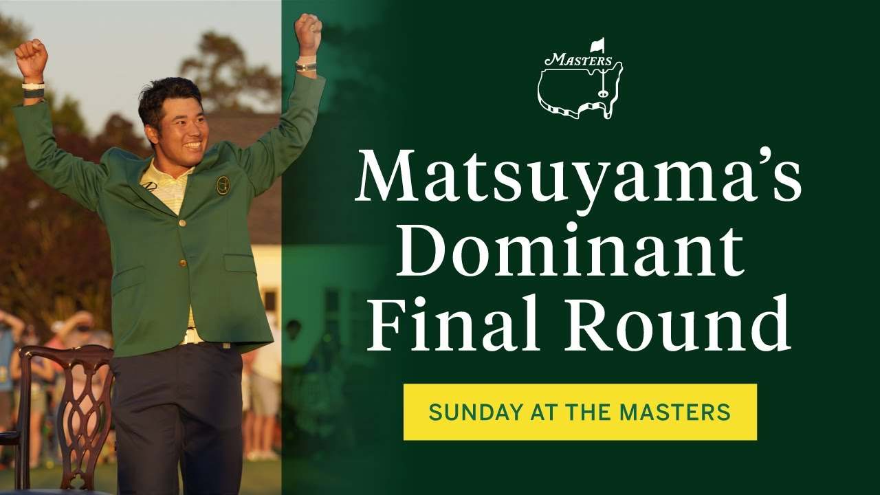 Matsuyama A Masters Champion | The Masters