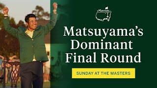 Matsuyama - Nhà vô địch The Masters