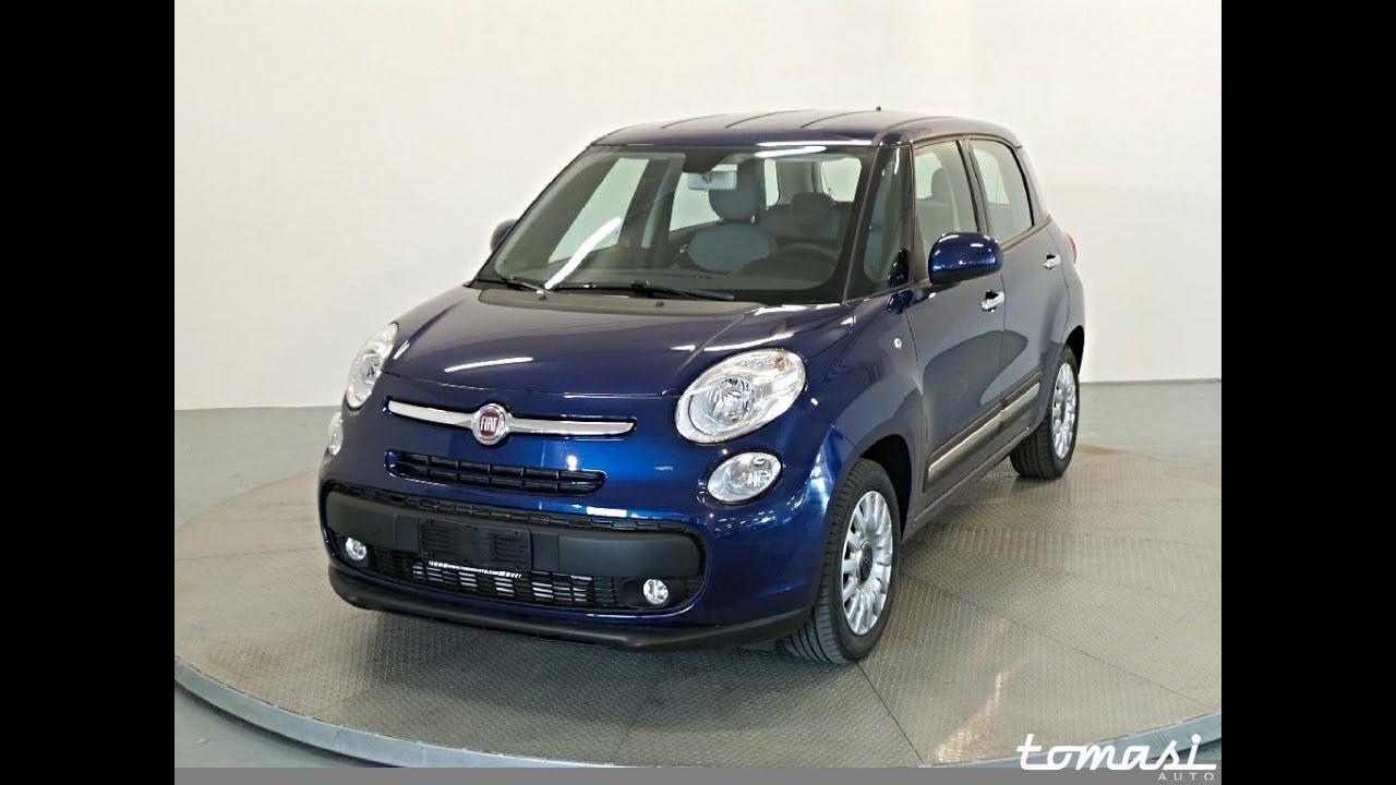 fiat 500l 1 3 multijet 85 cv pop star blu venezia km0 youtube. Black Bedroom Furniture Sets. Home Design Ideas