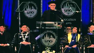 James Carville Commencement Address- University of New Orleans Fall 2014