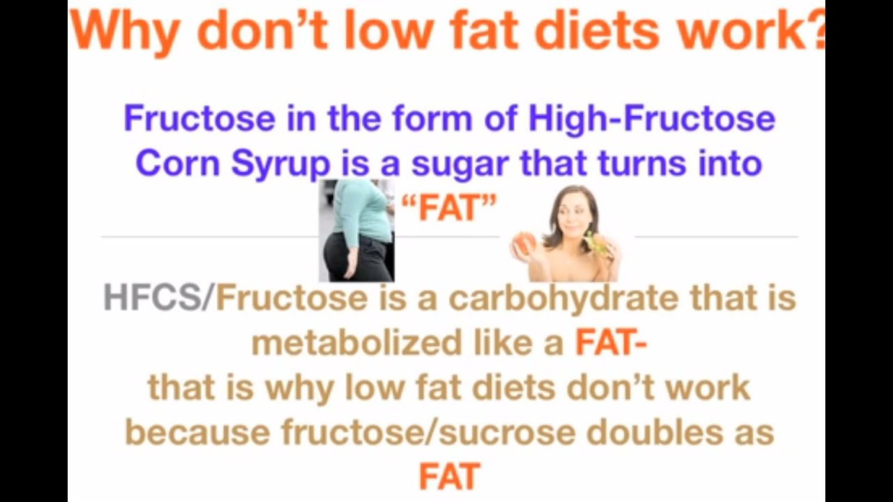 why low fat diets dont wor