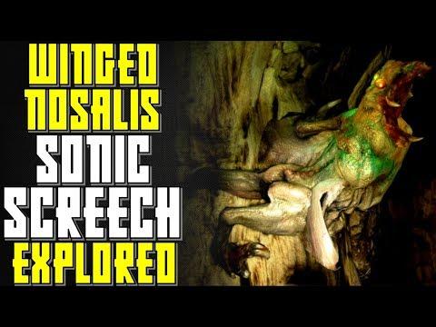 Metro Winged Female Nosalis Biology | Metro 2033 Last Light Exodus Lore | Evolution, Sonic Scream